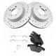 1APBS01136-Mercedes Benz Brake Rotor Pair