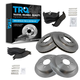 1ABFS01218-Brake Pad & Rotor Kit Front Rear
