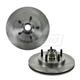 1ABFS01220-Brake Rotor Pair Front  Nakamoto 54092