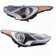 1ALHP01331-Hyundai Veloster Headlight Pair