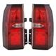 1ALTP01134-2015-17 Chevy Suburban Tahoe Tail Light Pair