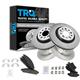 1ABFS01201-Brake Pad & Rotor Kit