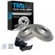 1ABFS01203-2002-05 Brake Pad & Rotor Kit Rear
