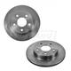 1ABFS01207-Brake Rotor Rear Pair