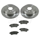 1ABFS01238-2006-07 Nissan Xterra Brake Kit Rear