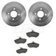 1ABFS01240-Volkswagen Brake Pad & Rotor Kit Front