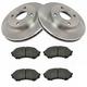 1ABFS01169-1999-01 Mazda Protege Brake Kit