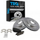 1ABFS01159-Cadillac CTS STS Brake Pad & Rotor Kit Rear