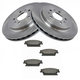 1ABFS01157-2010-11 Cadillac STS Brake Pad & Rotor Kit Rear