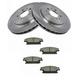 1ABFS01158-Cadillac CTS STS Brake Pad & Rotor Kit Rear
