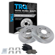 1ABFS01155-Brake Pad & Rotor Kit Rear