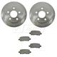 1ABFS01156-2010-11 Cadillac STS Brake Pad & Rotor Kit Rear