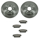 1ABFS01191-2004-09 Cadillac SRX Brake Kit Rear  Nakamoto CD1020A  15235141