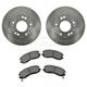 1ABFS01108-Brake Pad & Rotor Kit Front
