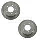 1ABFS01123-Brake Rotor Rear Pair