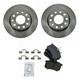 1ABFS01127-Audi A4 A4 Quattro Brake Kit Rear  Nakamoto MD340  8E0-615-601D