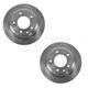 1ABFS01138-Brake Rotor Rear Pair