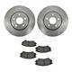 1ABFS01034-2011-14 Chevy Camaro Brake Pad & Rotor Kit Front