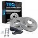 1ABFS01062-Brake Pad & Rotor Kit