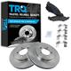 1ABFS01061-Brake Pad & Rotor Kit Front