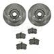 1ABFS01056-Audi A4 Brake Kit