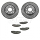 1ABFS01088-2005-08 Pontiac Grand Prix Brake Kit