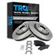 1ABFS01070-Brake Pad & Rotor Kit Front