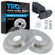 1ABFS01497-Brake Pad & Rotor Kit Rear