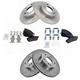 1ABFS01498-Infiniti I30 Nissan Maxima Brake Pad & Rotor Kit Front Rear