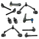 1ASFK00454-Suspension Kit (with 3.43 Bolt Pattern Idler Arm)