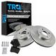 1ABFS01476-Brake Pad & Rotor Kit Front