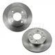 1ABFS01460-Nissan 200SX Sentra Brake Rotor Front Pair