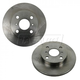 1ABFS01466-Toyota Corolla Brake Rotor Front Pair