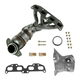 DMEEM00070-Nissan Altima Sentra Exhaust Manifold with Catalytic Converter Assembly