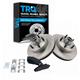 1ABFS01406-Brake Pad & Rotor Kit Front