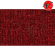 ZAICK05495-1987-93 Ford Mustang Complete Carpet 4305-Oxblood