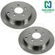 1ABFS01392-Brake Rotor Rear Pair