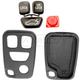 1AKRR00003-Volvo Keyless Remote Insert & Case