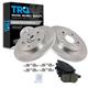 1ABFS01351-Brake Pad & Rotor Kit Rear
