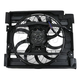 HEACF00001-1997-98 BMW 528i 540i A/C Condenser Cooling Fan Assembly
