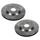 1ABFS01372-1997-04 Chevy Corvette Brake Rotor Pair Front
