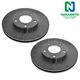 1ABFS01376-Brake Rotor Pair  Nakamoto 54093