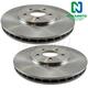 1ABFS01386-Brake Rotor Pair