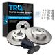 1ABFS01311-Brake Pad & Rotor Kit Front