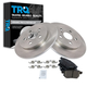1ABFS01348-Brake Pad & Rotor Kit Rear