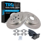 1ABFS01349-Brake Pad & Rotor Kit Rear
