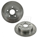1ABFS01303-Pontiac Vibe Toyota Matrix Brake Rotor Rear Pair