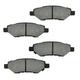 1ABFS01308-Cadillac CTS Chevy Camaro Brake Pad & Rotor Kit Rear
