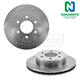 1ABFS01280-Dodge Dakota Durango Brake Rotor Pair