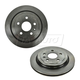 1ABFS01274-Cadillac CTS Chevy Camaro Brake Rotor Rear Pair